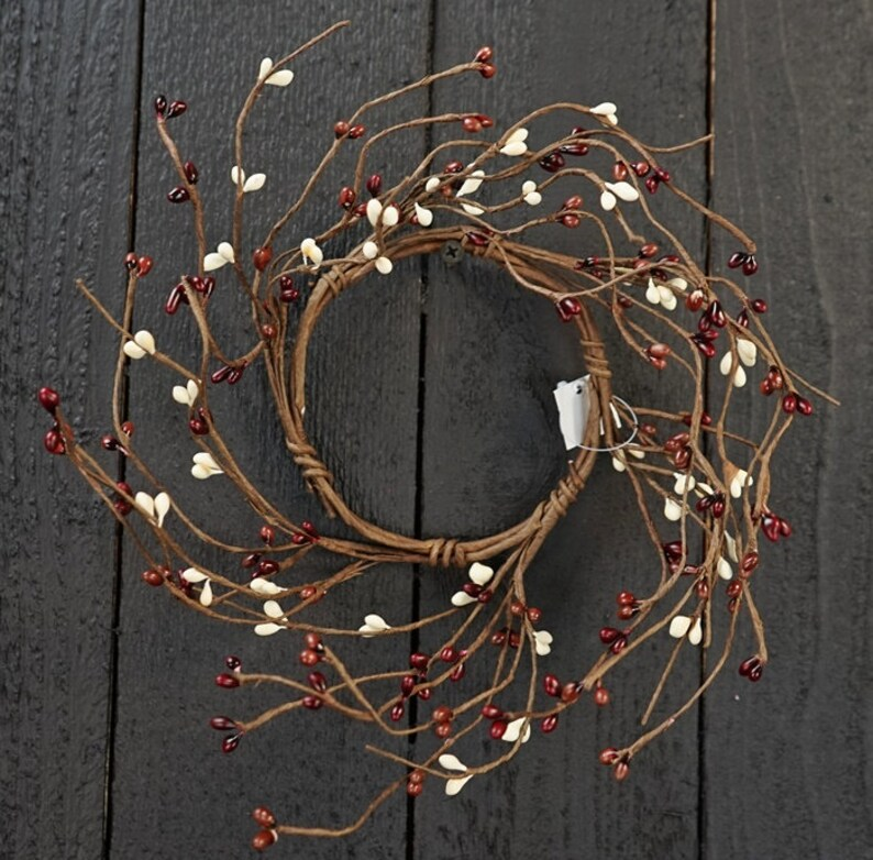 Pip Berry Candle Ring / Wreath 3 5