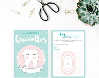 Baby teeth card