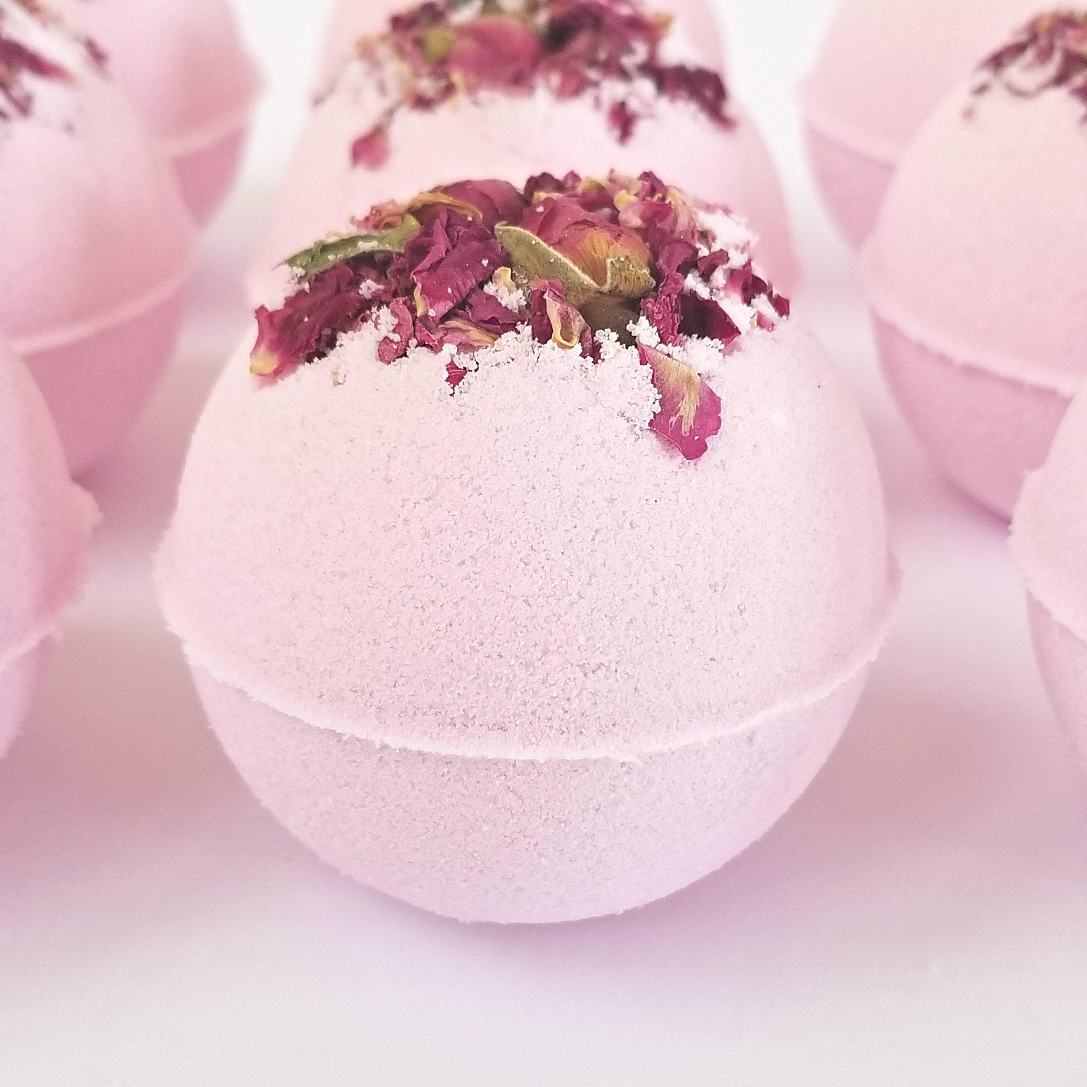 Japanese Cherry Blossom Bath Bombs Blush Bridal Shower Favors | Etsy