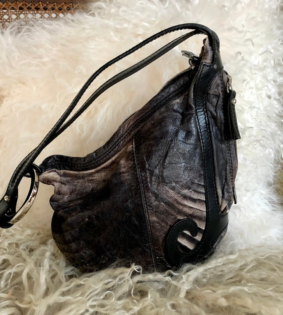 FENDI leather Saddle Bag