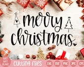 merry christmas svg | christmas sign svg | christmas svg | happy holidays svg | holiday svg | holiday decor svg | merry and bright svg