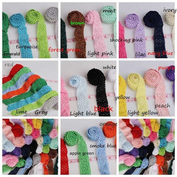 2017d888392 Stretch Crochet Tube Top Headband Hairband Waistband Tutu