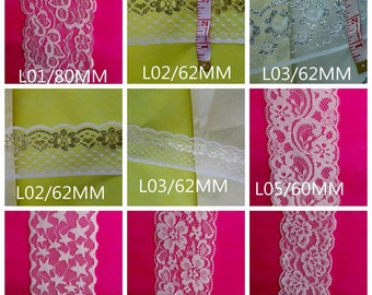 Scalloped / Various Shape Vintage Style Lace