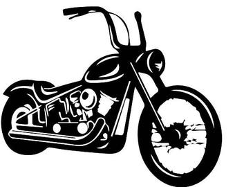 Harley Davidson svg, Motorcycle svg, png, ai, pdf, Bike svg, Motor svg, Clipart, Files for Cricut