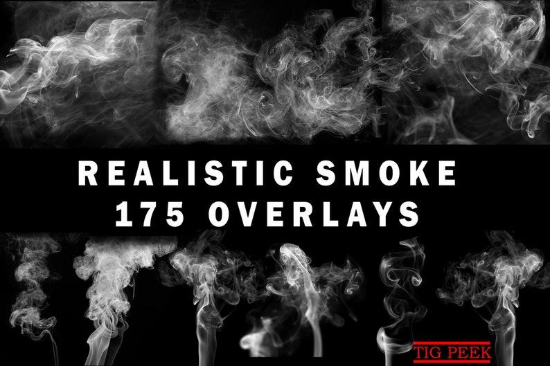 175 REALISTIC Smoke Overlays, Smoke Photoshop Overlays, Smoke Overlay,  cigarette smoke, smoking, mistical smoke,Mist Overlays, Clouds Effect