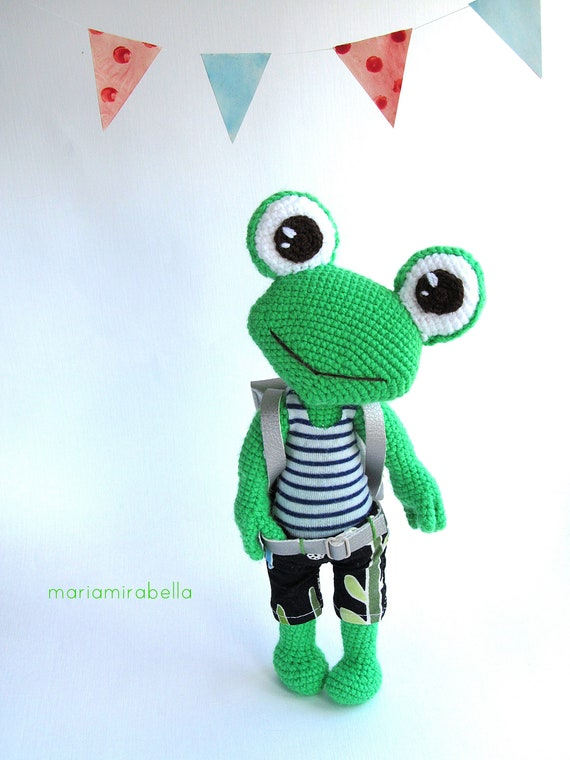 Felix the Frog | free amigurumi and crochet patterns | lilleliis | 760x570