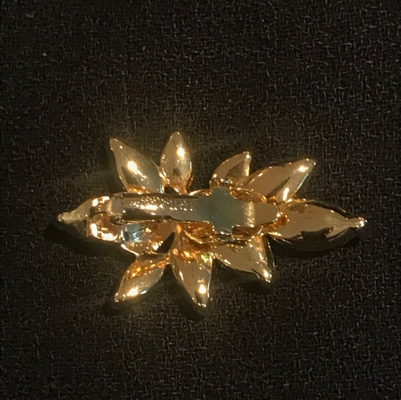Trifari Rhinestone Comfort Clip Earrings - image 4
