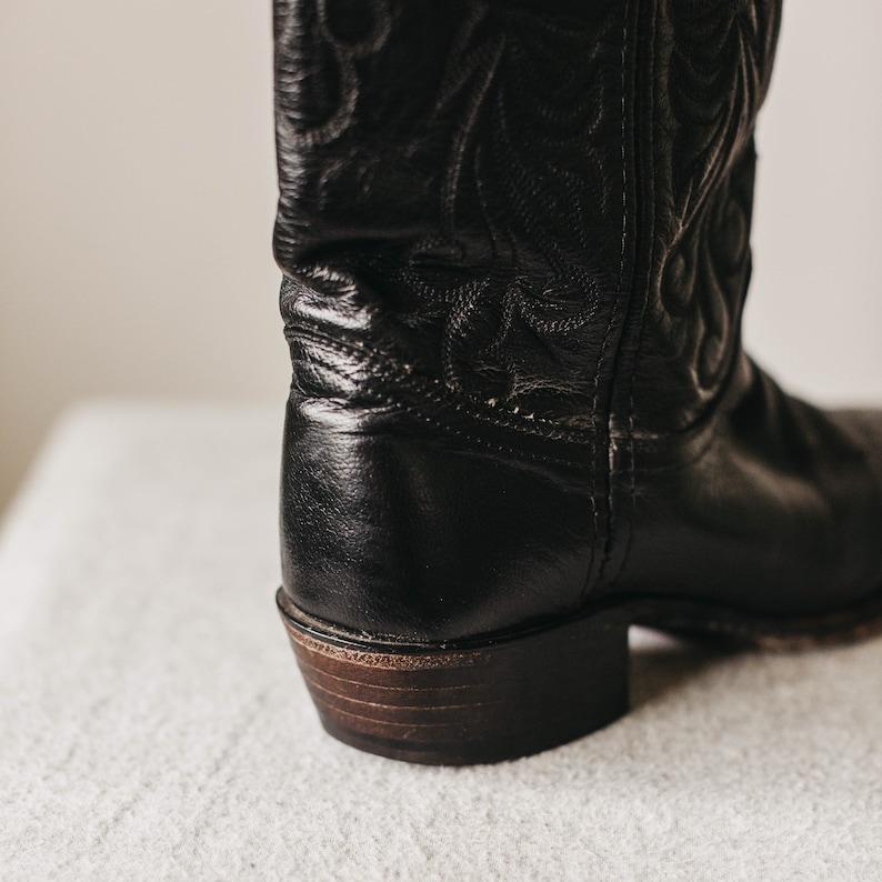 Vintage Dan Post Cowboy Boots