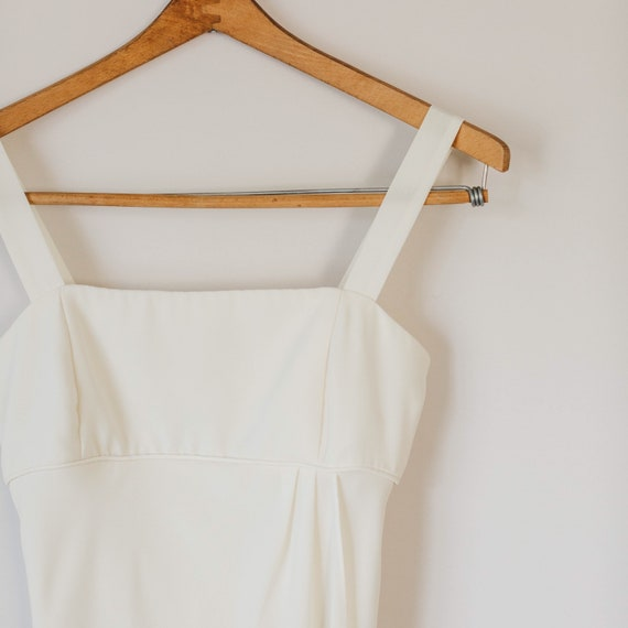 Vintage 80s Ivory Gown