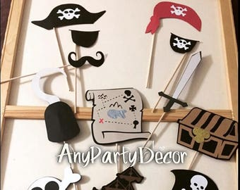 Pirate Party Photo Props - Pirate party props