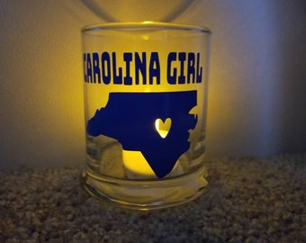 Carolina Girl Candleholder