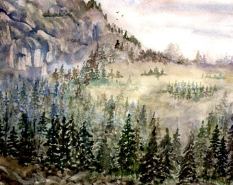 Misty Morning by Shelley Duck