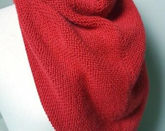 Trendy châle en Alpaca, châle écharpe en laine, châle tricoté main, écharpe  tricotée main, foulard triangle, étole, chèche, laine drops 8c63e53b1a0