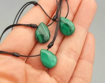 Green stone necklace Sophisticated jewelry Royal style choker MALACHITE choker Mystic jewlery SILVER necklace Gemstone jewelry