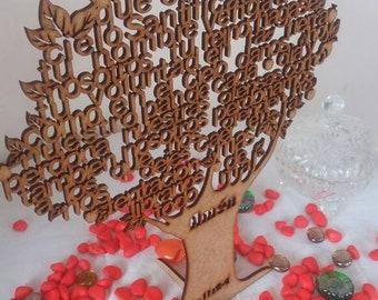 Custom Our Father Prayer Three/Our Father Prayer/Laser cut/Baptist/Communion Favor/Wedding/Beautiful Gift/Custom/Religious/Center Piece/Wood