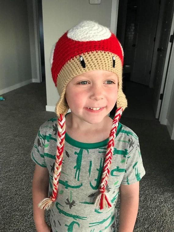 Mario inspiriert Pilz Hut häkeln   Etsy