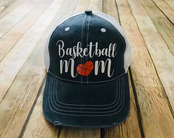 Basketball Mom Baseball Cap  042aa1ebe688
