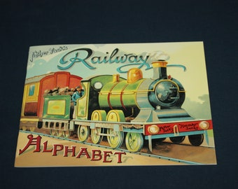Reproduction of Father Tuck's Railway Alphabet book
