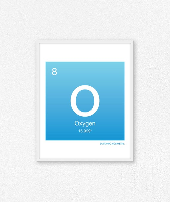 8 oxygen periodic table element periodic table of elements urtaz Images