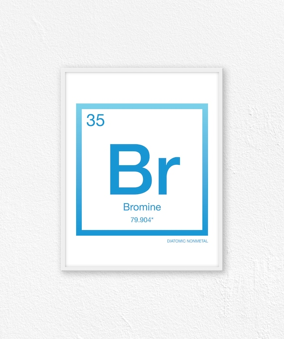 Bromine In Periodic Table Image Collections Periodic Table Of