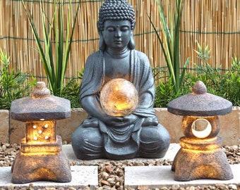 Garden Buddha Etsy