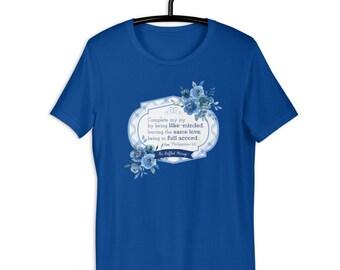 Like-Minded Short-Sleeve Unisex T-Shirt {Unity theme}