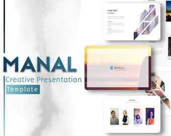 Daalo Minimalistic Powerpoint Template Etsy