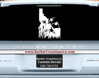 Oregon Mountains Vinyl Decal Bumper Sticker Car Window Etsy