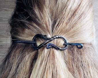 Hand forged hairpin by ktzay Decorative Hair Pin  Viking