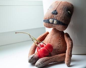 PORRIDGE  by KTZAY  #ポートレート #art  #prim #Teddy #Bear #Pumpkin #gerldoll #tutorial #crafts #ooak #ブライス #hygge #fashion