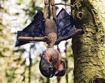 "BAT by KTZAY  #bat #halloween  31cm 12""  #bats  #hrgiger #Ripley #aliens Toys  GamesToysStuffed Animals  Plushies"