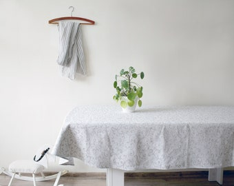 OVAL Tablecloth linen, washed beige, Table Linens oval tablecloth linens 60 x 98 inch (153 x 250 cm) ktzay