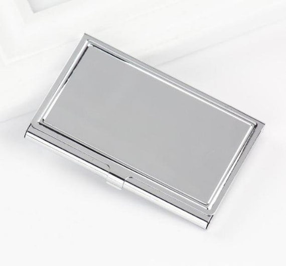 image 0 - Metal Business Card Case