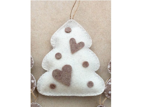 Decorazioni Albero Di Natale Blu : Albero di natale feltro albero di natale pannolenci albero etsy