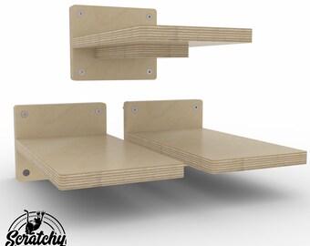 Wally 1 Step 3 Pack, Cat Shelf, Cat Step, Cat Gift