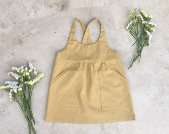 Overall dress, PDF Sewing pattern, sizes from 1 to 7 years