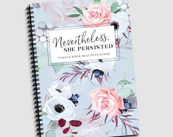 Fitness Planner, Health Planner, Wellness Planner, Fitness Journal, Daily & Weekly Sheets, Progress Check-ins, 150 pages