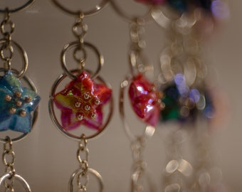 Earrings Origami star fountains ⋆