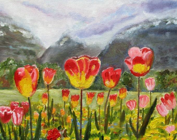 Flowering foothills