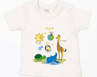 Baby T-shirt (personalized) Nature-Boy
