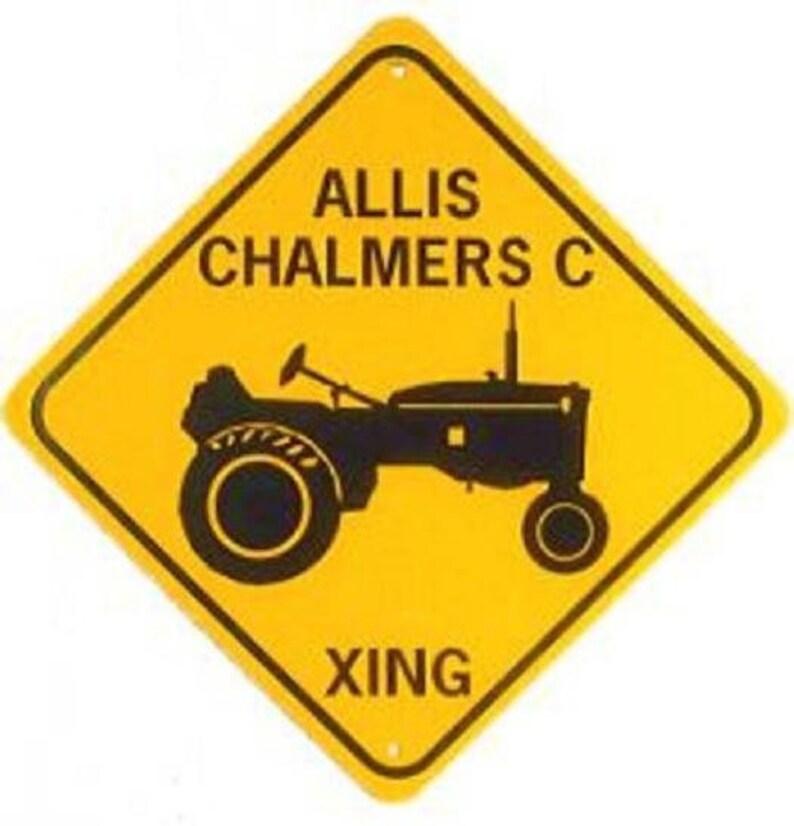 MASSEY FERGUSON XING  Aluminum Tractor Sign  Won/'t rust or fade