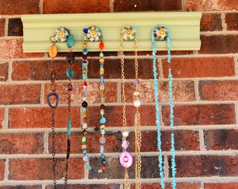 Light Lime Green Jewelry Hanger