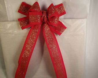 Red and Gold Bow (small)