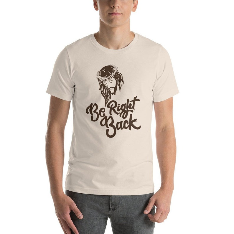 6f71e62d7 Jesus BRB Shirt Funny Jesus Shirts Christian Humor   Etsy