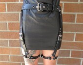 The RESIDENCY Thigh / Garter Leather Harness
