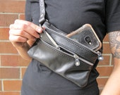 Versatile Attachment Hip Bag with Double Zipper