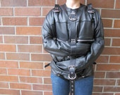 Leather Bondage Straight Jacket Custom CONVERSION