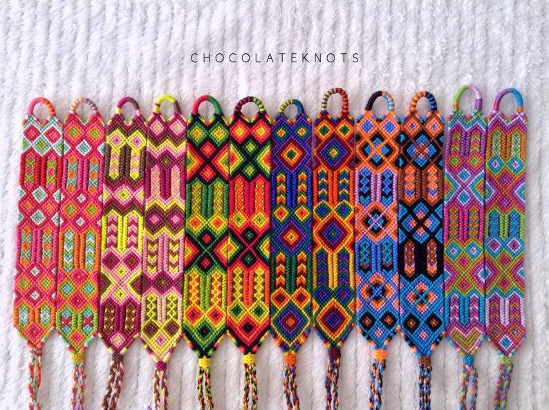 Double Border \u2022 Handmade Friendship Bracelets