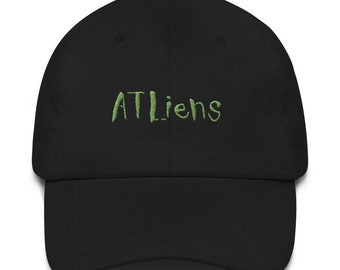 587ac7fed22 ATLiens Outkast Embroidered Dad Hat Strap Back Cap 90s Classic Hip Hop Rap