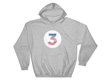 c329e8db211 Chance The Rapper Rainbow Color 3 Hooded Sweatshirt Hoodie S-5XL Classic Hip  Hop Rap